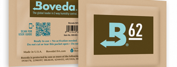 Boveda Humidity Pack 8g 62% RH