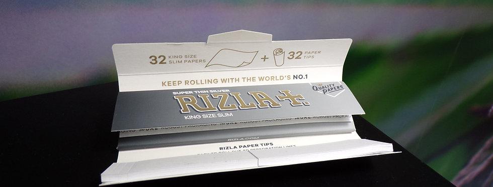 Rizla super silver king size slim combi pack.