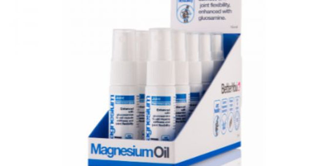 Better you. Magnesium oil spray.