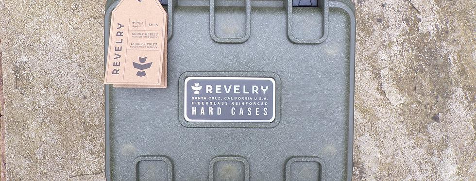 Revelry scout hard case. Army green 9.5 medium.