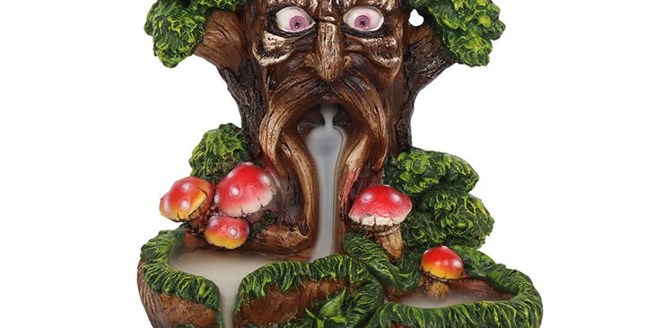 TREE MAN BACKFLOW INCENSE BURNER
