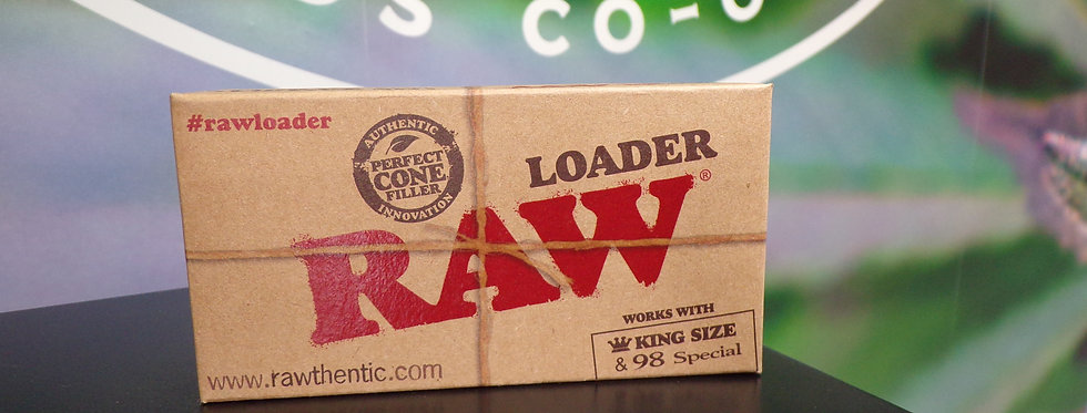 Raw king size cone loader.