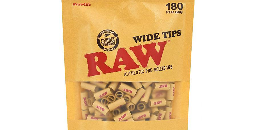 Raw wide tips 180