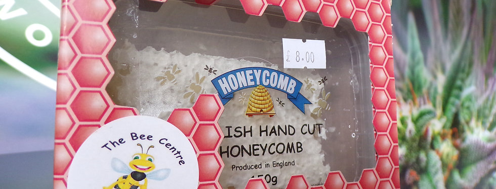 The bee centre. Natural honeycomb. 150g