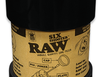 Raw six shooter. 1 1/4 and kingsize.