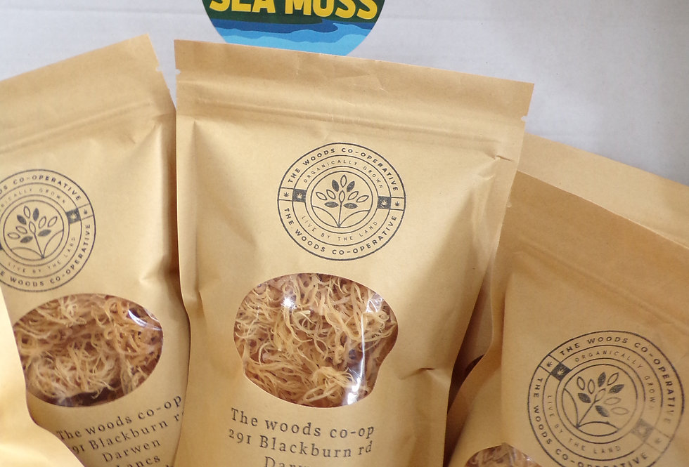 St. lucia  REAL sea moss. 70g