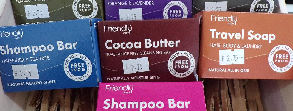 friendly soap. natural soaps.