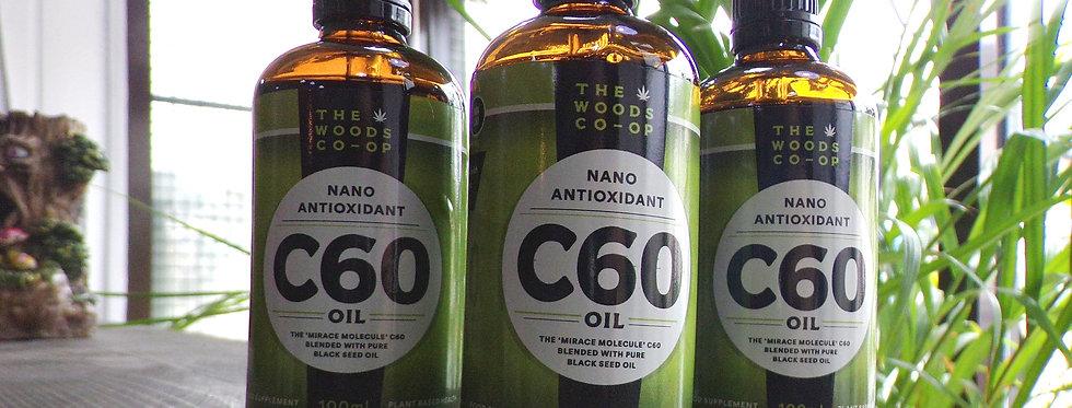 The woods co-op C60 black seed oil. 100ml