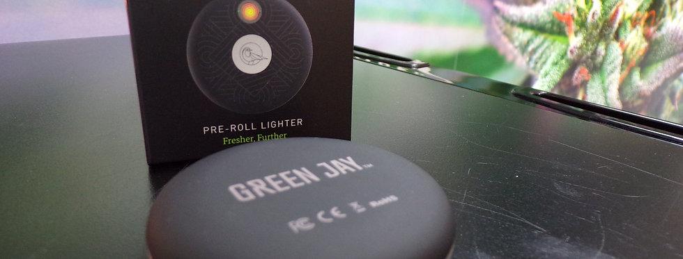 Green jay. Pre roll lighter.
