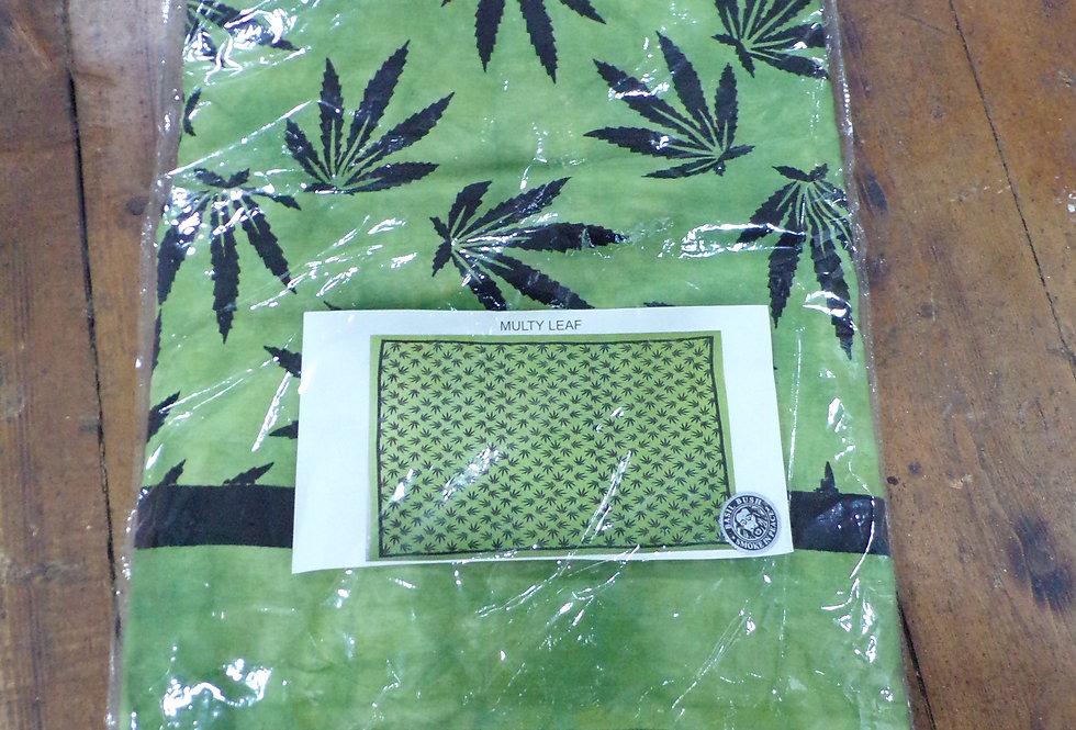Multi leaf design bedcover. 2150mm x 2400mm