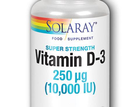 Solaray. Vitamin D-3 (10,000iu)