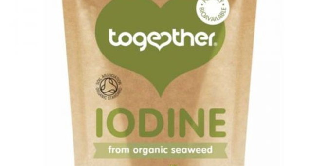Together Organic Seaweed Iodine Food Supplement Capsules 30s