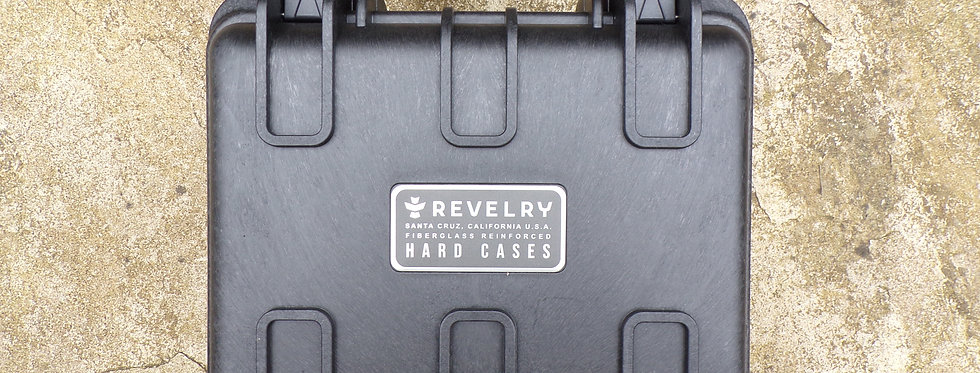 Revelry Scout hard case. Black 11 large.