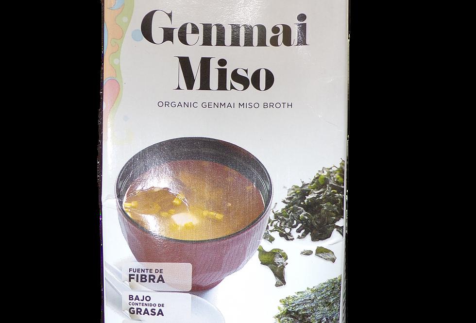 Amandin. Organic Genmai miso broth.