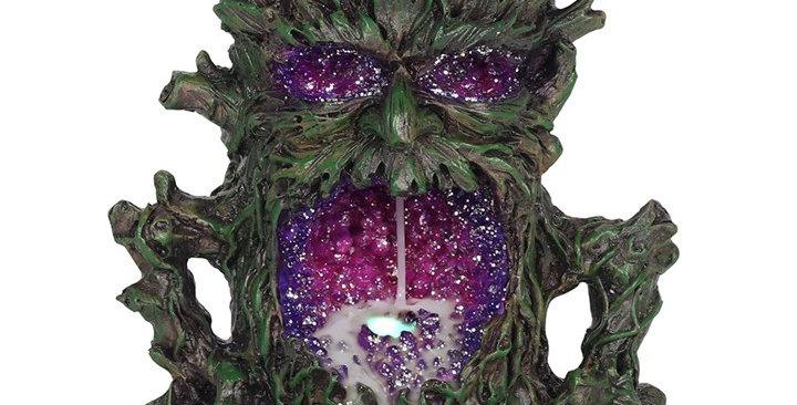 DARK TREE MAN BACKFLOW INCENSE BURNER WITH LIGHT