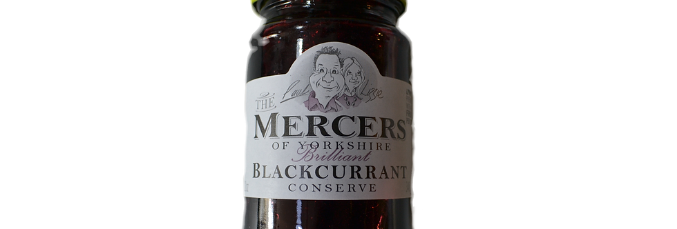MERCERS BLACKBERRY AND RASPBERRY CONSERVE 340G