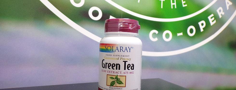 Solaray. Green tea. 30 x 675mg tablets.