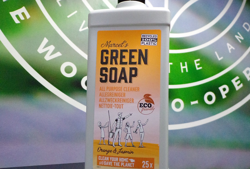 Marcels, Green soap All purpose cleaner. vegan friendly.