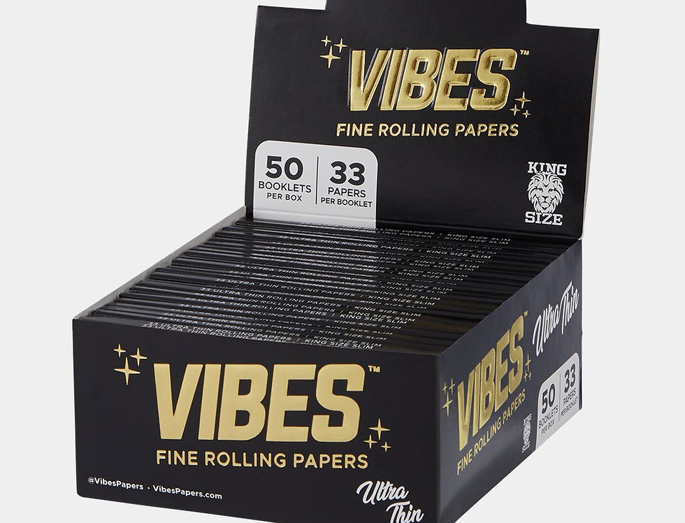 Vibes rolling papers.