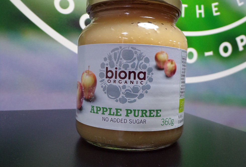 Biona organic. Apple puree. 360g