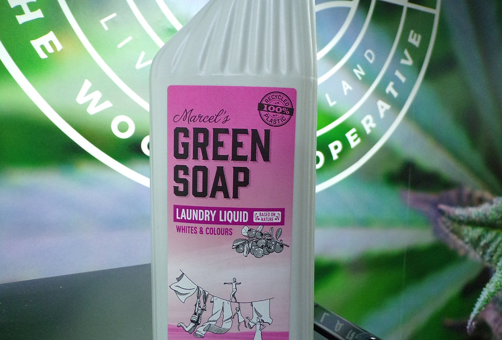 Marcels, Green soap. Laundry liquid. vegan friendly.
