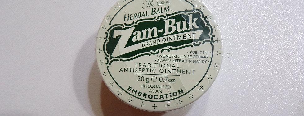 The great herbal balm. Zam buk. 20g