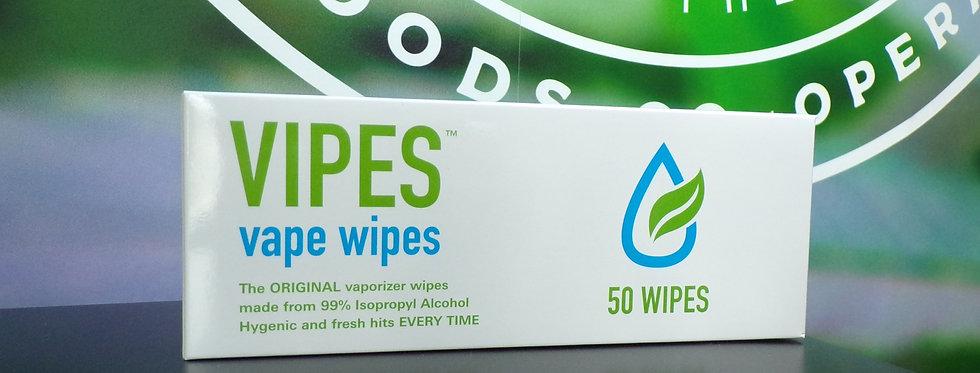 Vipes ape wipes. box of 50.