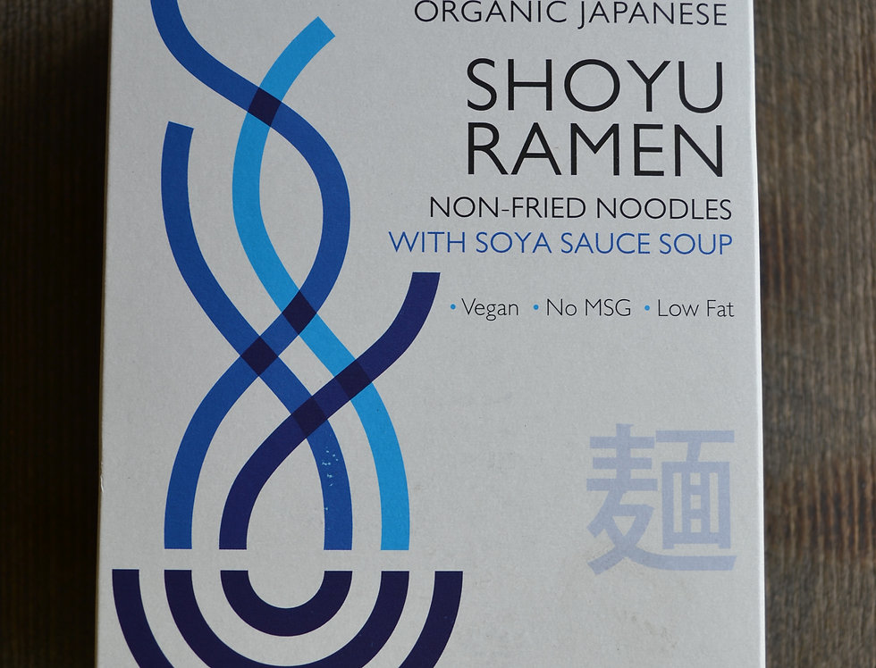 Clearspring organic japanese shoyu ramen.