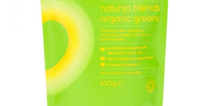 Naturya blends organic greens. 100g