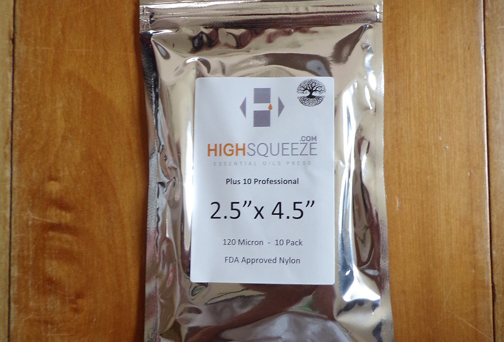 """High squeeze rosin bags. 2.5 x4.5"""""""