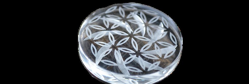 Glass decarb cap.