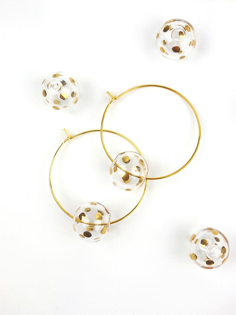 GIRO earrings