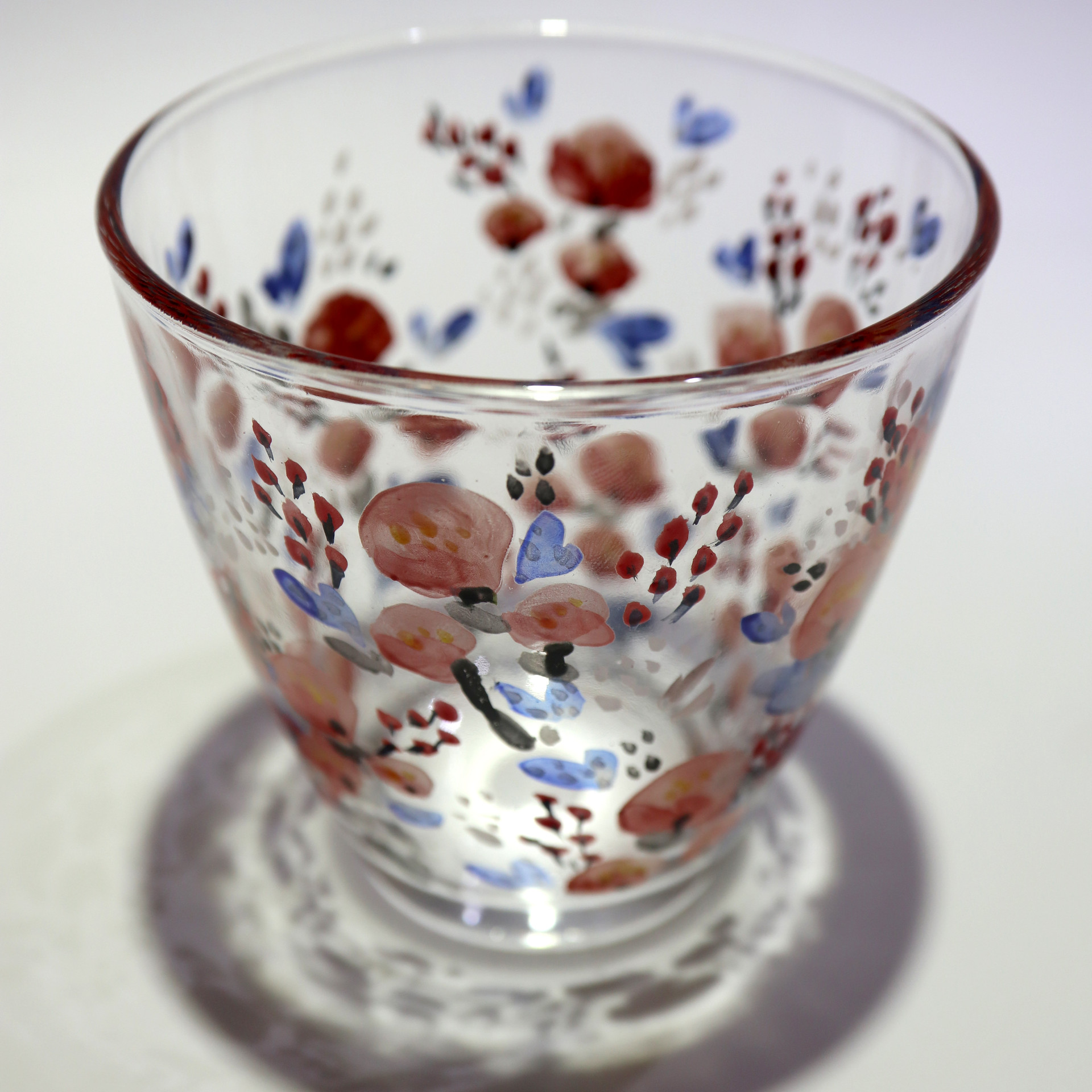 Venetian enamal glass painting