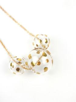 BACI necklace - Gold Dots