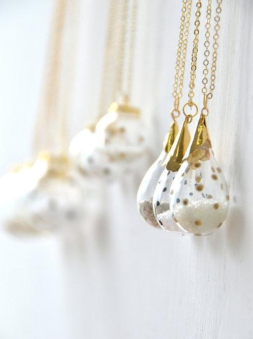 GOCCIA necklace- Polka dot bubble necklace