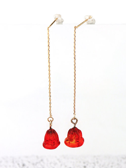 FIORI earrings - Red