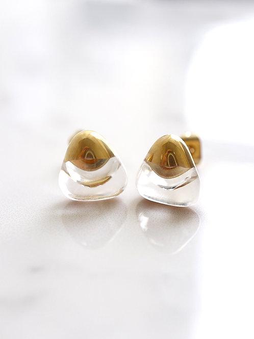 PEZZO stud earrings - Clean