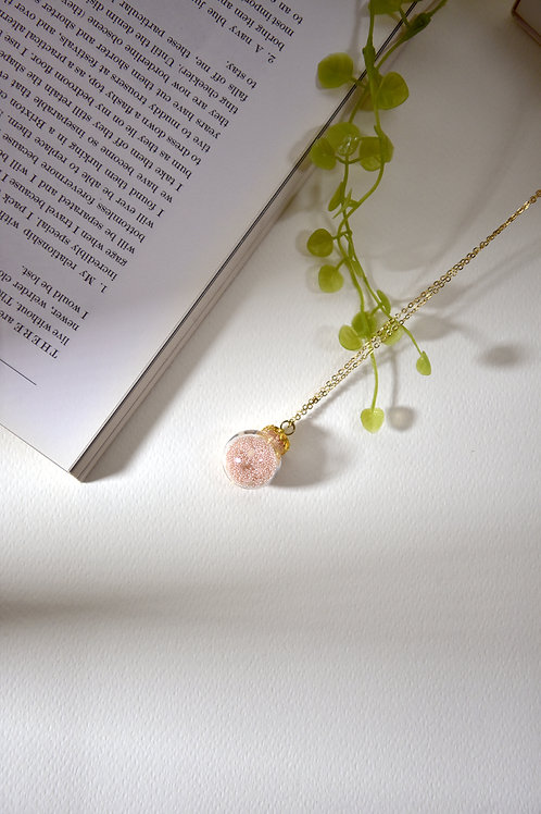 BUBBLE necklace- Pink