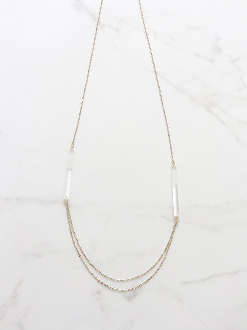 TEMPO long necklace - Clean