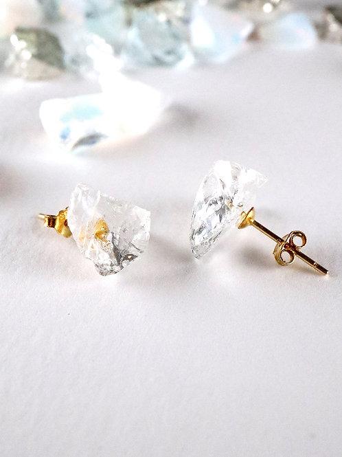 STAR STONE stud earrings - Clean