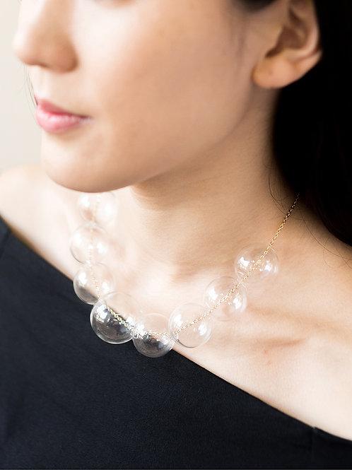 PERLA - Glass Bubbles Pearl Necklace