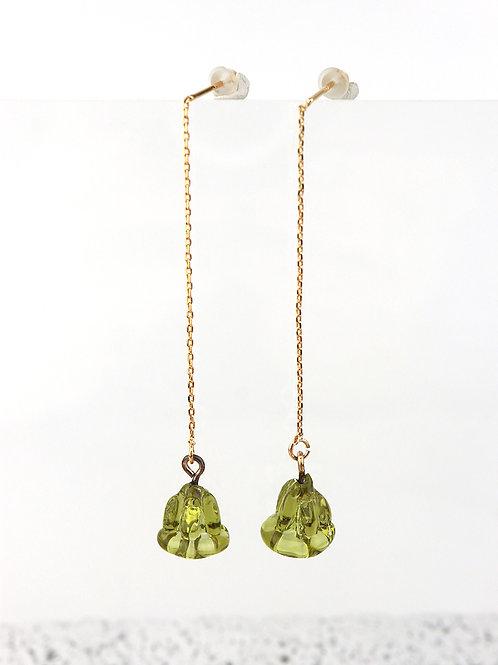 FIORI earrings - Olive