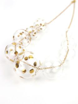 PERLA necklace - Gold Dots