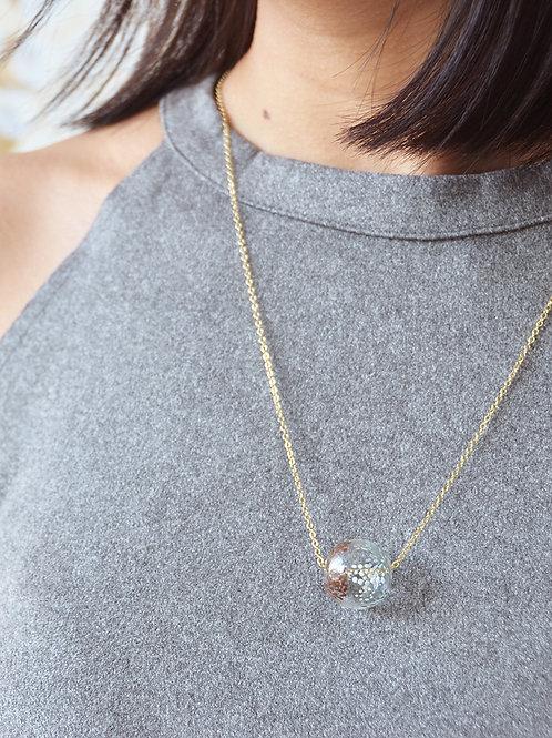 NONNA round - Hand-paint bubble necklace