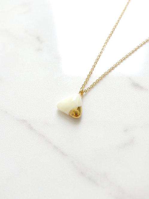 PEZZO Necklace - White