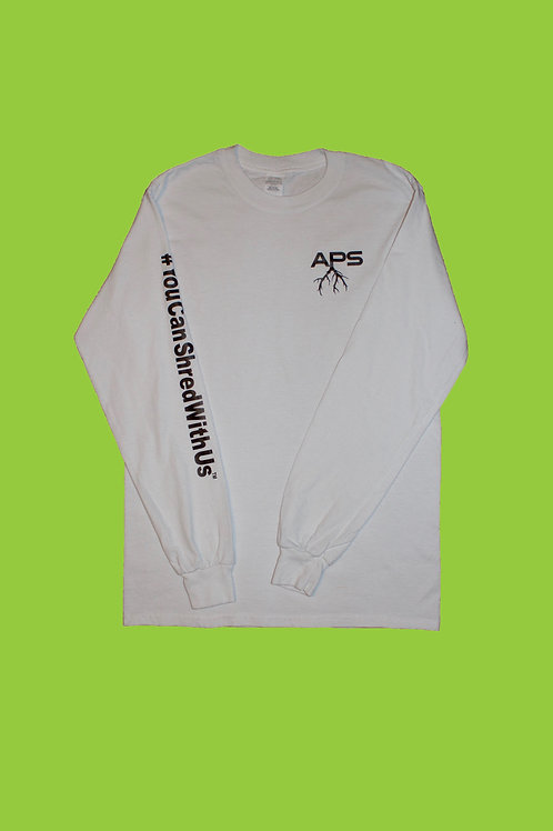 """Plant Seeds"" Long Sleeve ( White )"