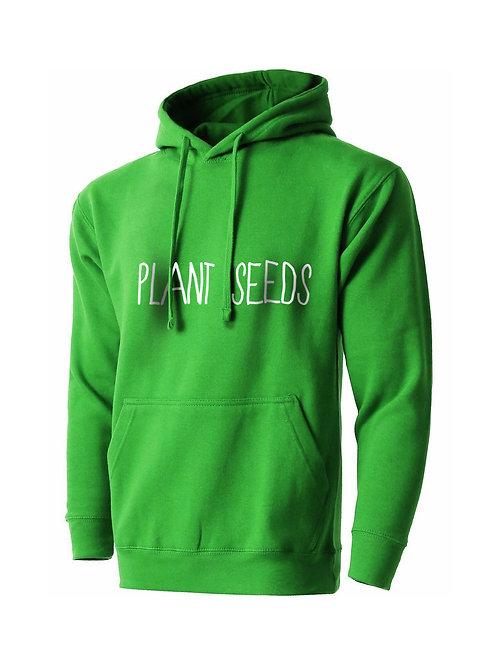 Plant Seeds Hoodie Green