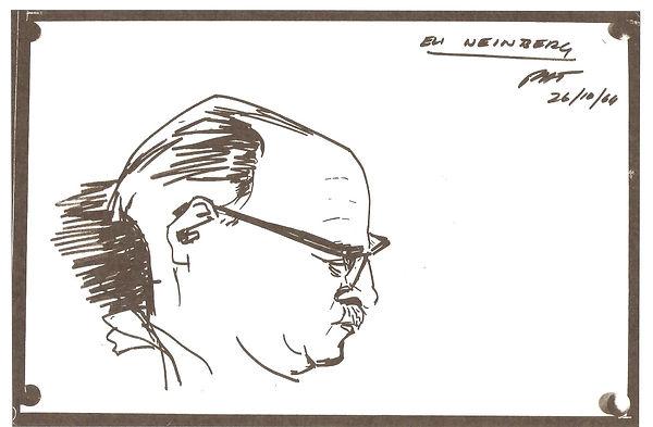Portrait of Eli Weinberg PAUL Trewhela.J