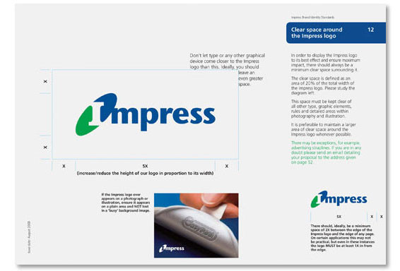 Impress branding and guidelines