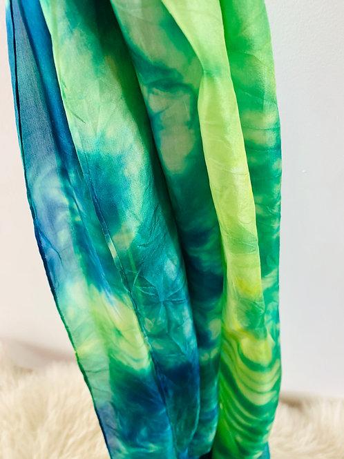 sjaal batik green